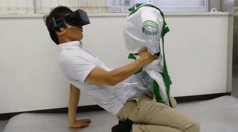 Het virtual reality porno festival in Japan werd te druk.